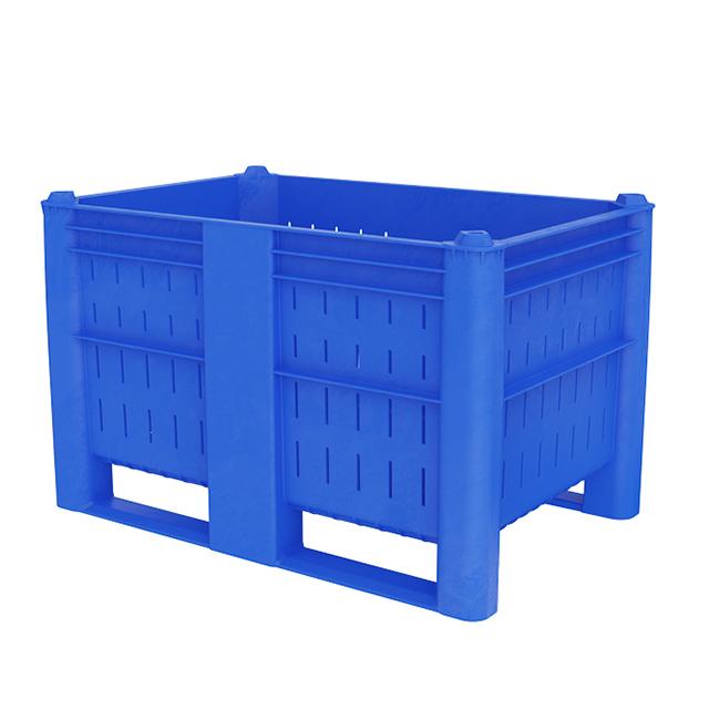 Boxpalet plastic perforat
